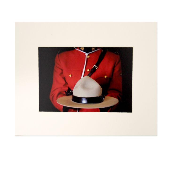 The Mountie Shop Uniform 1 Matted Art Print