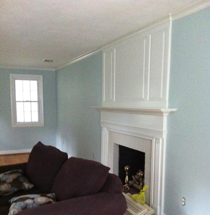 benjamin moore woodlawn blue kitchen do over pinterest. Black Bedroom Furniture Sets. Home Design Ideas