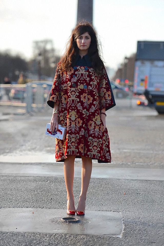 Boho Street Style Inspiration: Bohemian Embroidered Coat #johnnywas
