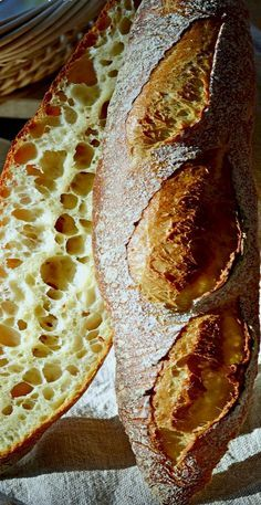Baguette with Lievito Madre