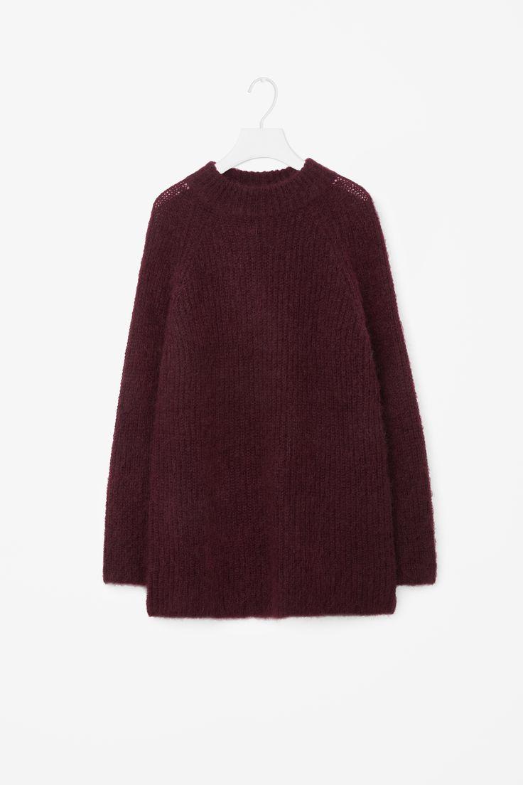 COS | Oversized high-neck jumper