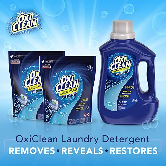 Only 4 99 Oxiclean High Def Sparkling Fresh Liquid Laundry