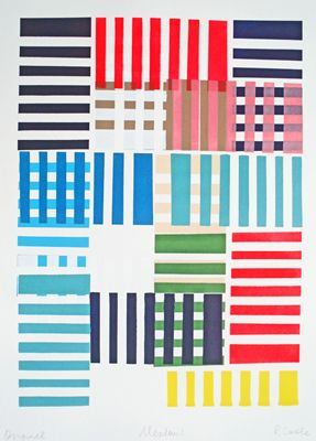 screen prints by castle.  Simplicity and colour is often all one needs...