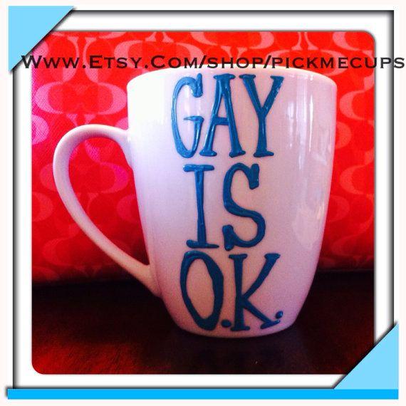 Gay pride coffee mug gay pride month gay gift funny by PickMeCups