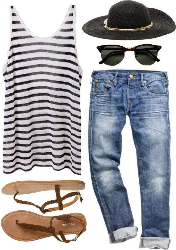 """For those sunny days"" by jocelynjasso2005 on Polyvore #fashion #outfit #clothes #travel"