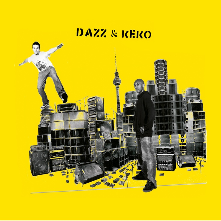 record cover design for our Dazz & Keko project. More infos here: http://dazz-keko.bandcamp.com/