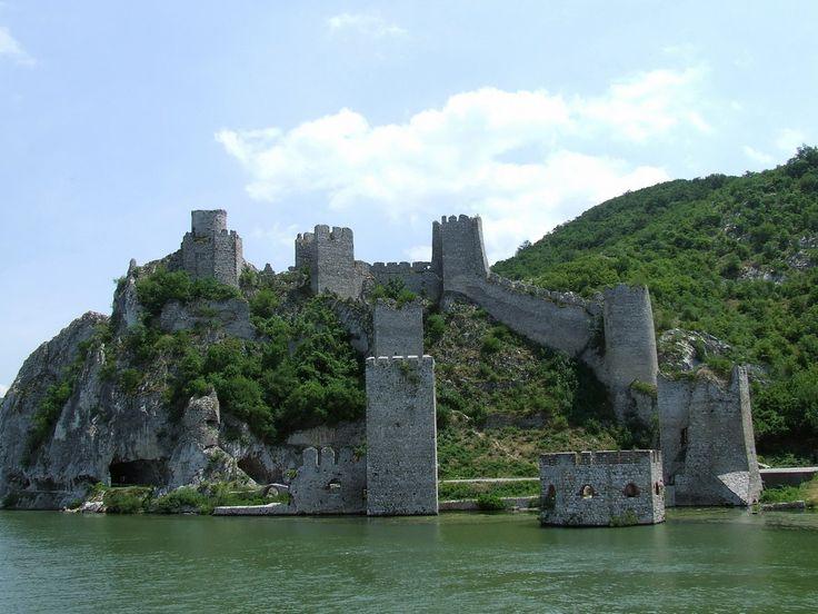 Golubac Fortress - Danube River in Serbia
