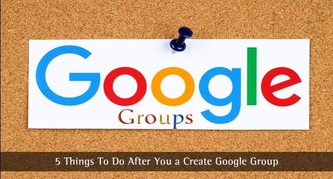 Know what is Google groups, how to create google group and some of the things you can do with google groups.