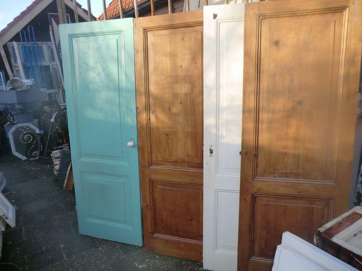 Paneeldeuren - set - Paneeldeuren - Deuren | Te koop bij Leen Oude Bouwmaterialen | Oude deuren