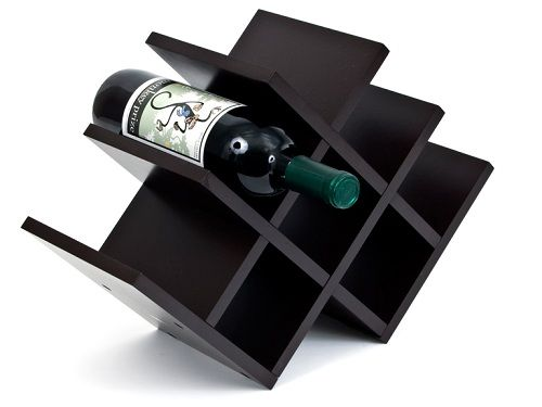 wooden wine racks hometone home automation and smart home guide - Wooden Wine Rack