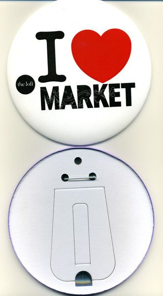 150mm Personalised Button Badges
