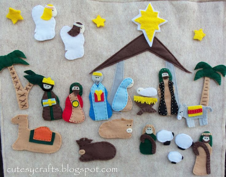 144 best christmas unit study images on pinterest christmas diy diy nativity advent the kids will love assembling the nativity scene as the days go solutioingenieria Choice Image