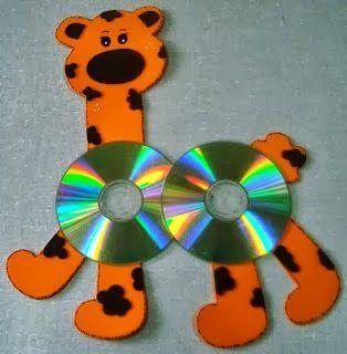 Είμαι παιδί: Τι μπορούμε να φτιάξουμε με τα παλιά cd