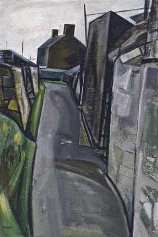 """'STREET SCENE, CORNWALL' 