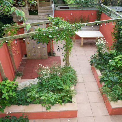 rotterdam II « Studio TOOP Tuinarchitectuur / slim idee, een dwarse ligger over de tuin!