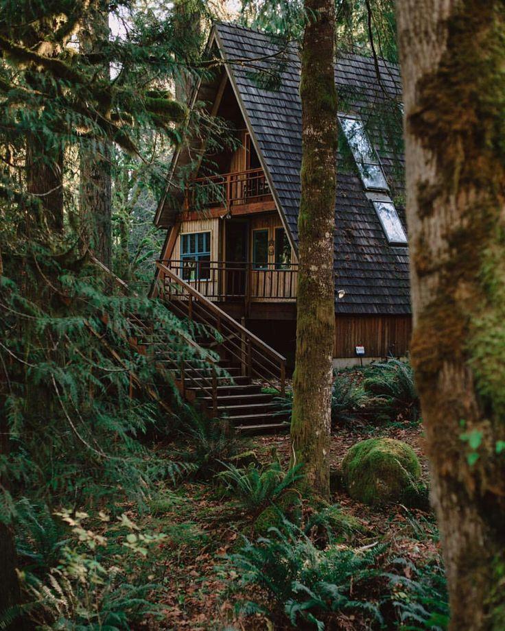 дом на окраине леса картинки объемными элементами смотрятся