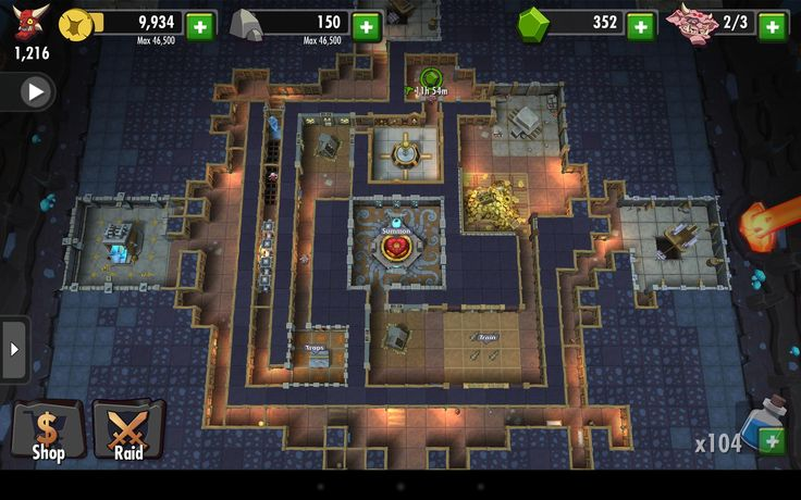 Dungeon keeper version mobile?