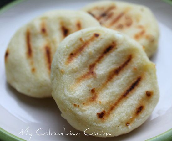 My Colombian Cocina - Arepas