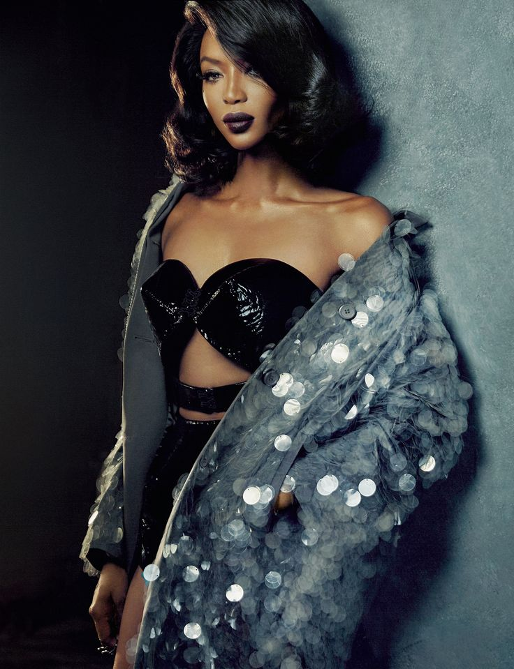 Naomi Campbell by An Le for Vogue Portugal February 2016