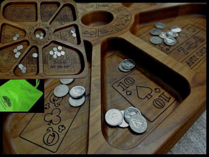 Wooden Custom Made Rummoli Board