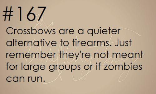Zombie Apocalypse Survival Tip #167