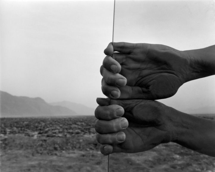 Judy Dater My hands, Death Valley, 1980