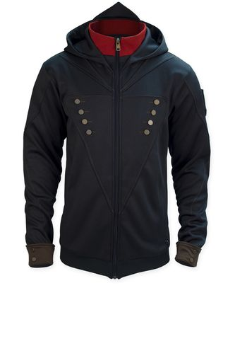 Pay allegiance to Arno Dorian by joining the brotherhood with the Assassin's Creed Unity - Arno Hoodie.