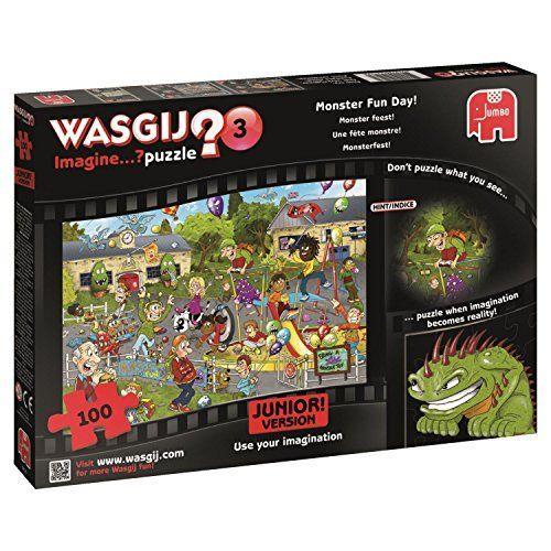 Wasgij Junior 3 Monster Fun Day Jigsaw Puzzle (100-Piece) by Wasgij