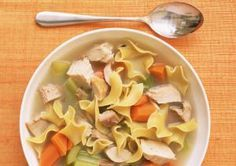 Turkey noodle soup - Lisa Hubbard / Getty Images