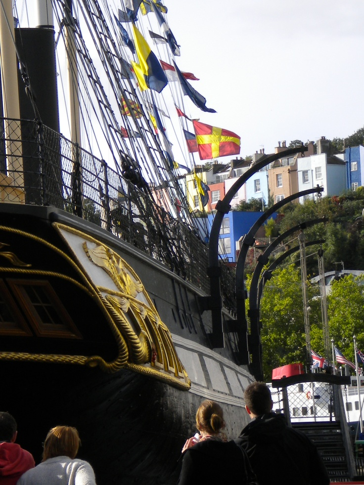 The magnificent SS Great Britian at Bristol docks.Photo taken by Sarah James in 2010.
