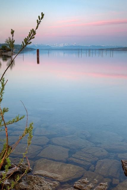 Dämmerung am Starnberger See