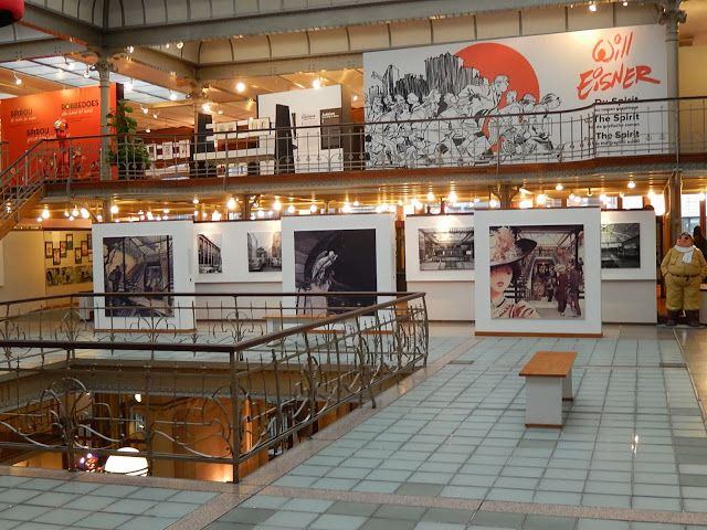 Art Contrarian: Brussels' Comic Strip Museum. Get some great #trip_ideas and start planning your next trip! See More: RoutePerfect.com