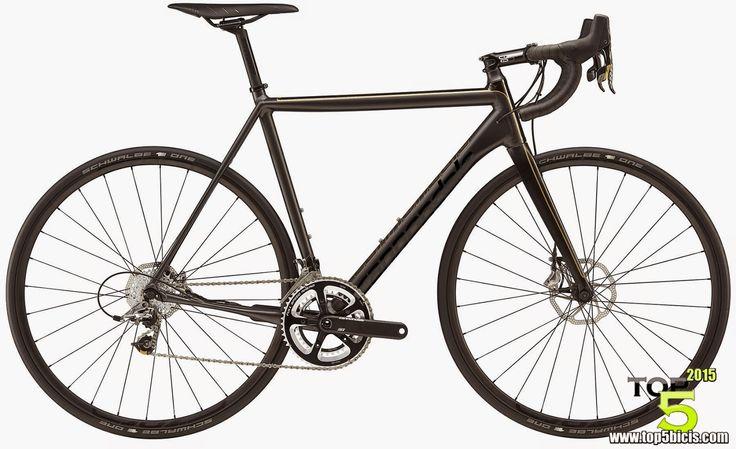 TOP 5 - BICICLETAS DE CARRETERA: La Cannondale CAAD10 BLACK INC.DISC es una bici de...