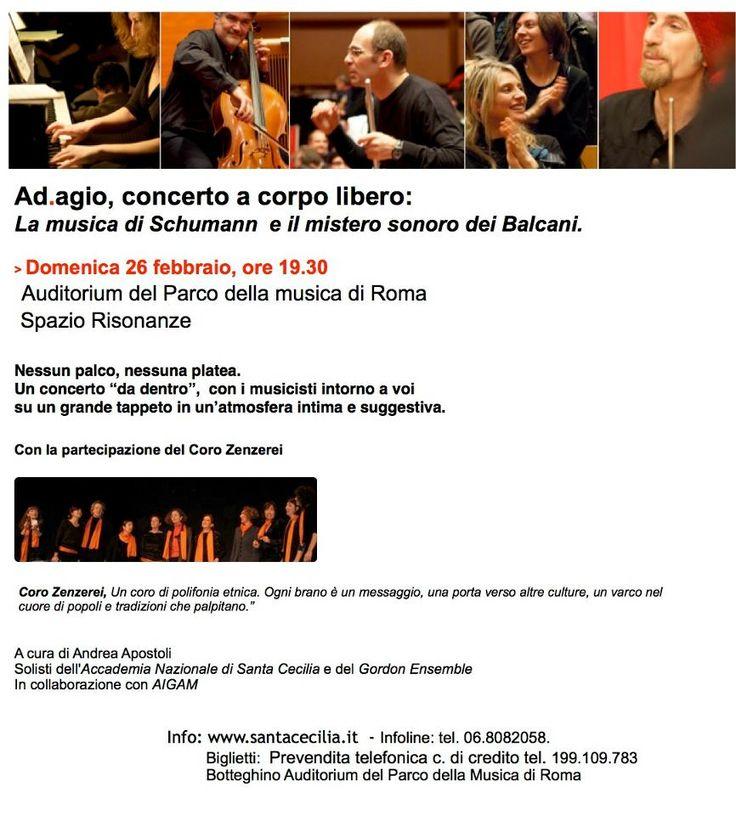 Auditorium Parco della Musica Roma, concerti Ad-agio