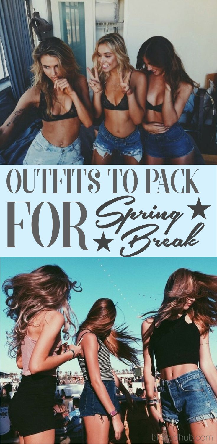 OUTFITS TO PACK FOR SPRING BREAK - bikini, coverup, day outfit, night outfit, poncho, shoes, bag, cross body + more! - OH EM GEE these outfits are just TO DIE FOR, You will definitely turn heads with these clothing essentials!!