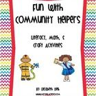 This Fun with Community Helpers unit is jammed packed with tons of activities for you to complete with your students while learning about community...