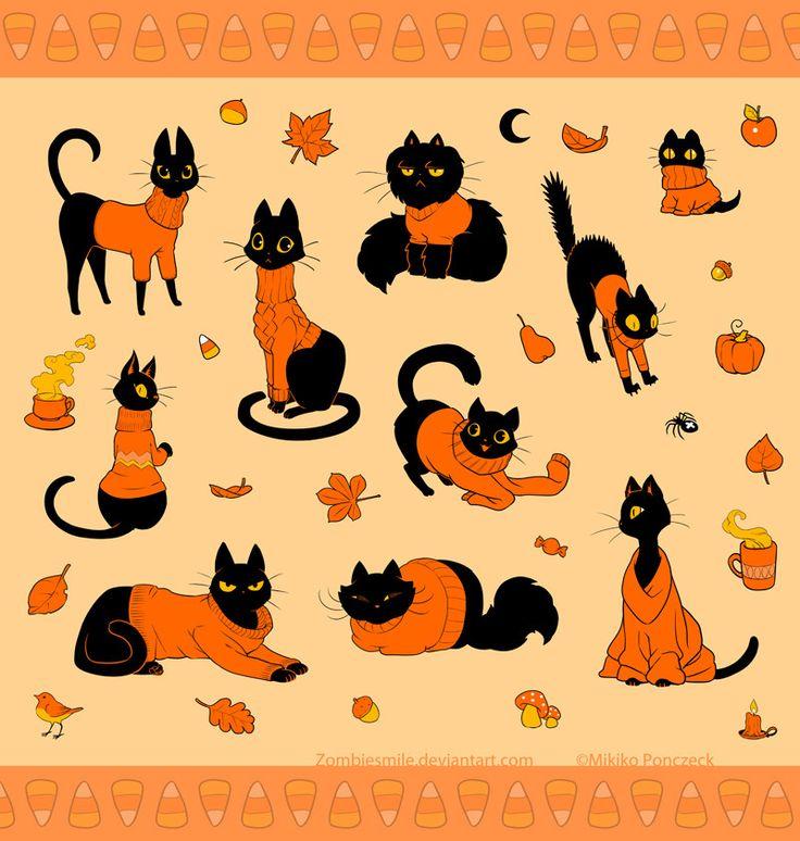 Cozy Kittens, Mikiko Ponczeck on ArtStation at https://www.artstation.com/artwork/RqZOA