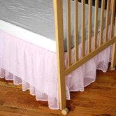 Found it at Wayfair - Tulle Crib Skirt