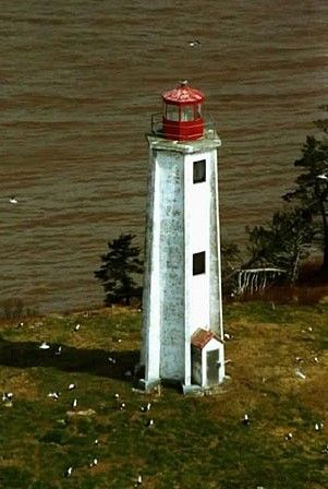 Grindstone Island Light. Southern New Brunswick
