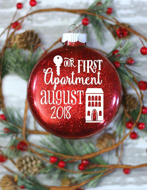 First Apartment gift Cool Gift Ideas Glass Christmas