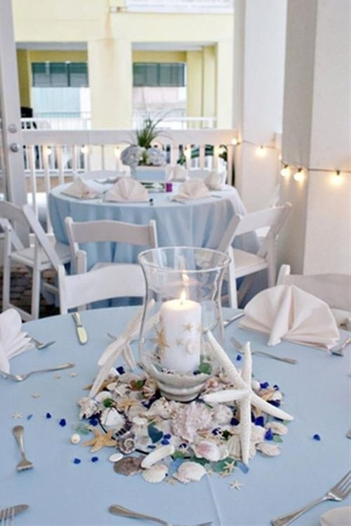 Starfish Unique Impressive Beach Themed Wedding Centerpieces in Beauty Style - Click image to find more weddings posts
