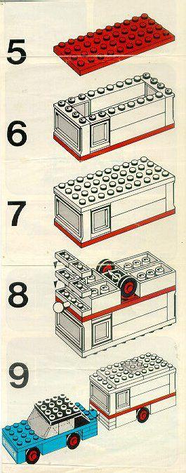 ... Legoland - Car and Caravan [Lego 656] ...