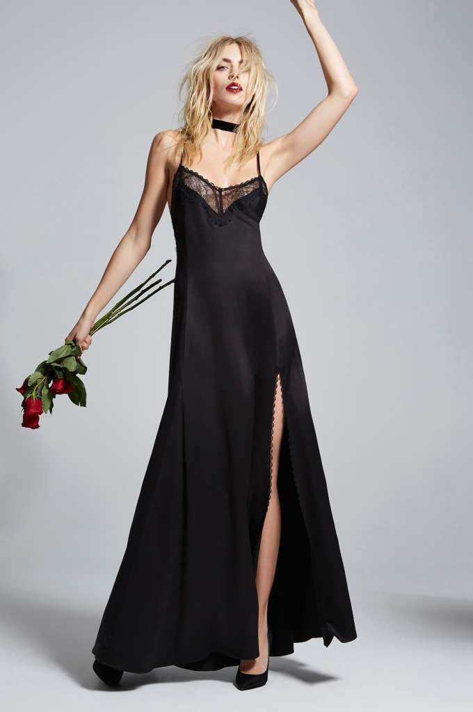 Love, Courtney by Nasty Gal Once and Destroy Satin Maxi Slip | Shop Product at Nasty Gal!