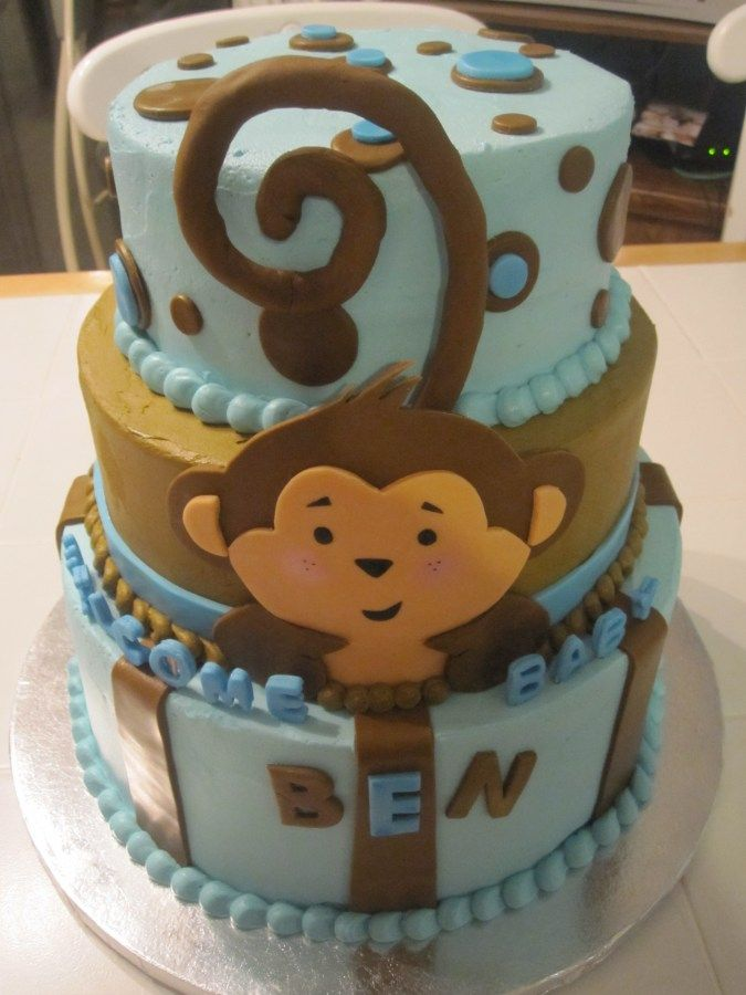 Birthday Cake Ideas Monkey : 75 best images about Five Little Monkey 1st Birthday on ...