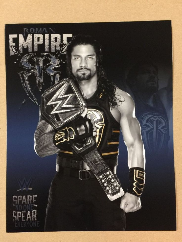 Roman Reigns WWE Champ 8x10 Photo Pic Wrestlemania Ambrose Rollins Shield NXT | Sports Mem, Cards & Fan Shop, Fan Apparel & Souvenirs, Wrestling | eBay!