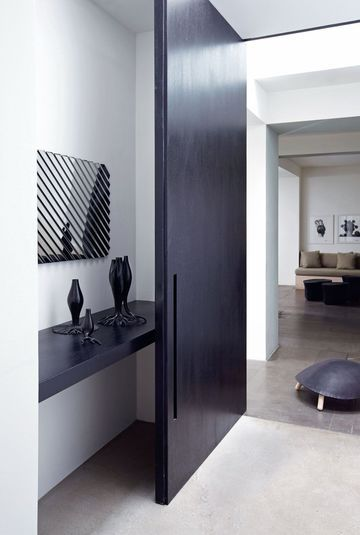 Gilles DalliA?re Apartment ... That Door Is Everything | See more about Doors.
