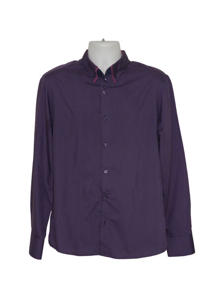 RIVER ISLAND MENS SHIRT - PURPLE - SIZE LARGE - COLLARED  #riverisland #purpleshirt #smart #fashion #mens #clothing #shopping #stylish #casualshirt #mensshirt #shirt #purple #new #ebayfashion #ebay #bigbrands #brandnew #mensfashion #fashionclothing #mensfashionshirts #mensfashionjeans #mensfashionshorts #mensfashioncasual #mensfashionclothing #mensfashionwear #latestmensfashion #mensfashionstyle #newmensfashion