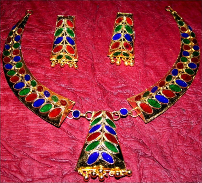 Exotic Indian Assamese jewellery have it @ Ramdhenu