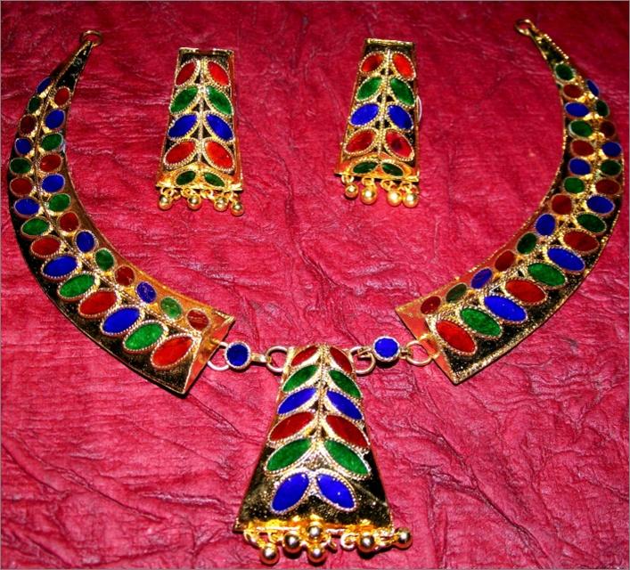 Exotic Indian Assamese jewellery have it @ Ramdhenu