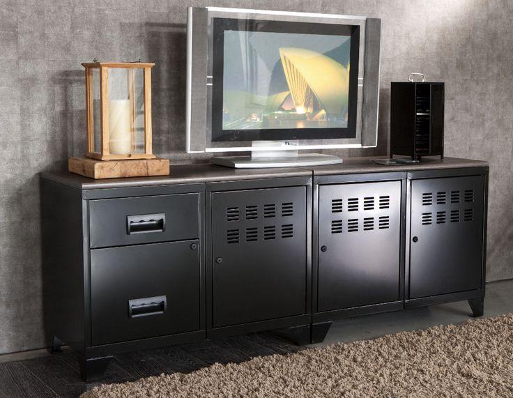 24 best du mobilier design dans mon salon images on pinterest solid wood credenza and drawers. Black Bedroom Furniture Sets. Home Design Ideas